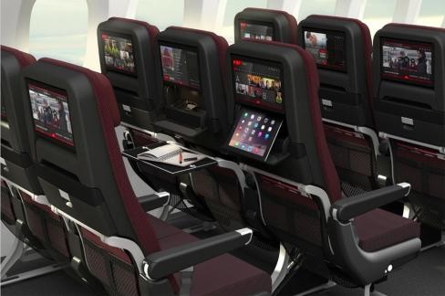 Qantas B787 Economy