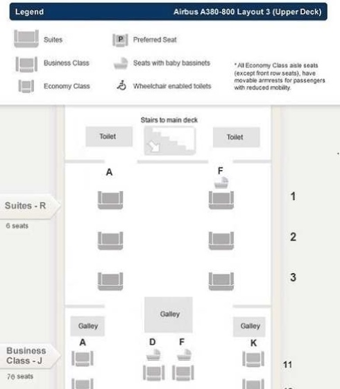 SQ SUITES LAYOUT